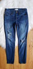 Madewell Skinny Skinny Jeans Womens Size 26 Stretch Medium wash