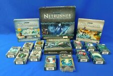 Lot of Android Netrunner Card Base Game, Data Packs, and Expansions