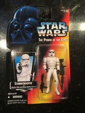 1995 Star Wars Stormtrooper POTF Red Card Action Figure New Wear