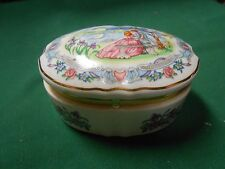 """Great Collectible 1980 Heritage House Music Trinket Box """"Some Enchanted Evening"""