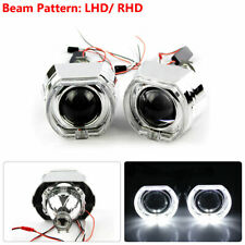 2.5 inch Bi-xenon Projector Lens LED Devil Eyes Red Shrouds with LED Angel Eyes