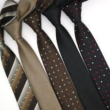 Lot 5 Packs Men's Necktie 6CM Polka Dot Skinny Narrow Slim Neck Tie For Wedding