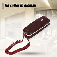 Portatile Cavo Desktop Telefono Fisso Telephone Fisso Montabile A Parete Kit