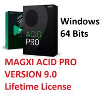 NEW ✔️ MAGIX ACID PRO 9 ✔️ FULL License ✔️ Digital Download ✔️64 Bits Windows