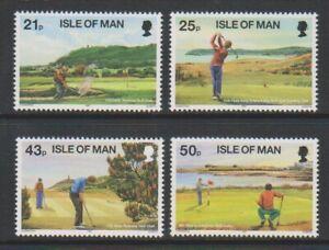 Isle of Man - 1997, Ryder Cup, Golf set - MNH - SG 755/8