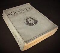 LIVRE ANCIEN 1917 Traité Général de Photographies noir & en couleurs E.COUSTET
