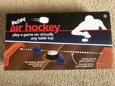 Instant Air Hockey Table Top Or Polished Floor Game