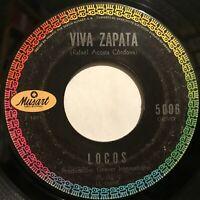 Hear Locos Viva Zapata / Noche de Oraciones Latin Psych Rock Mexican Band 45rpm