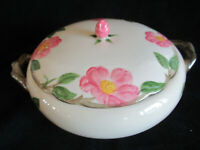 Franciscan Desert Rose Covered Casserole Vegetable Serving Bowl Dish TV Mark USA