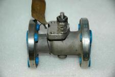 "Jamesbury 3/4"" CF8M Stainless Steel 6150313600XT Flanged Ball Valve"