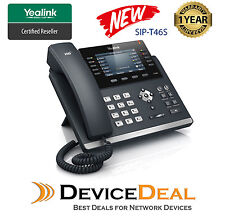 Yealink SIP-T46S   6 Line Ultra-Elegant Gigabit IP Phone New Model of T46G