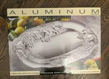 Tabletops Unlimited Silver Aluminum Serving Tray -Brand New In Box