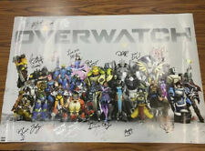 Overwatch Poster Signed By Multiple Voice Actors