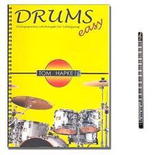Drums easy 1 - Tom Hapke - MusikBleistift - BOE7017 - 9783936026399