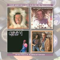 ANDY WILLIAMS-CHRISTMAS PRESENT OTHER SIDE OF ME/ANDY 2 CD NEW!