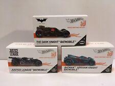 Hot Wheels id Batmobile Lot  Dark Knight Justice League Arkham Knight