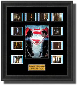 Backlight Batman v Superman Dawn of Justice Film Cell Memorabilia FilmCells