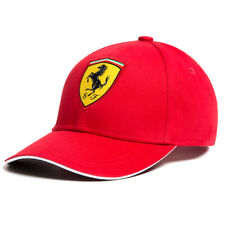 Scuderia Ferrari Formula 1 Authentic Classic Hat Cap F1 Red or Black