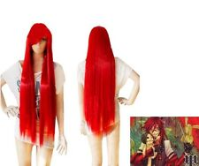 Black Butler Cosplay Costume Grell Sutcliff cosplay wig