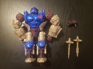 Transformers Beast Wars Transmetals optimus primal complete dark blue metallic