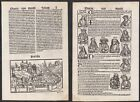 1497 Perugia Italy Italia Schedel Inkunabel Incunable Holzschnitt woodcut