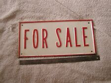 Vintage For Sale Sign
