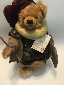 HERMANN teddy bear LE Mohair  REMBRANDT 400th Birthday Bear #124/1000 RARE