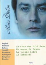 Alain Delon. 5 movies Collection. 8 Languages. Voice – French, Italian, Russian.