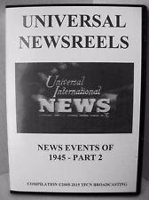 UNIVERSAL NEWSREELS 1945 - PART 2 (DVD)