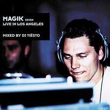 MAGIK 7 SEVEN LIVE LOS ANGELES CD DJ TIESTO DANCE HOUSE