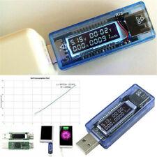 USB Charger Doctor Voltage Meter Ammeter Amp Volt Tester Power Detector Tester