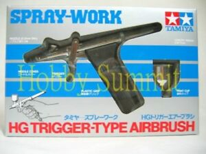 Tamiya TRIGGER-TYPE AIRBRUSH 0.3mm Nozzle Spray-Work HG  Model 1/35 1/12 # 74510