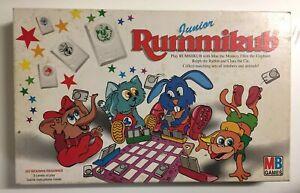 Vintage Junior Rummikub Tile Game - Milton Bradley - Retro Board Game - 1995