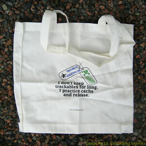 Trackable Tote Bag - Practice Cache & Release