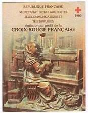 Frankrijk booklet postfris 1980 MHN 2231-2232 - Rode Kruis / Red Cross (K033)