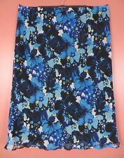 SK14995- CATO Women's Polyester Maxi Flare Skirt Multicolor Floral Plus 26/28W