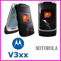 Motorola Razr v3xx Flip Cellphone 1.3MP Camera Original Bluetooth Mobile Phone