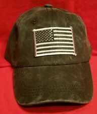 USA Flag Low Profile Pigmented Dyed Special Cotton Twill Cap with B&S US Flag