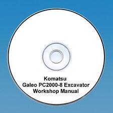 Komatsu PC 2000-8 Excavator Workshop Manual