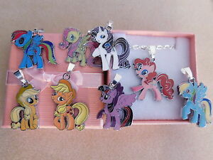 My Little Pony Necklace Silver Plated Gift Box or Gift Bag
