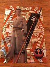 2016 Star Wars High Tek Rey 03/25 Orange MAGMA Diffractor  SW-75