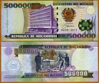 MOZAMBIQUE 500000 500,000 METICAIS 1993 P-142 UNC