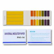 pH test strips paper for Soil Water soap Aquariums(80Strips)