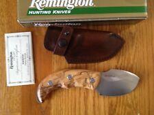 Remington Premier Hunting Elite Skinner S1 OLIVE WOOD DROP POINT Fix Knife ITALY
