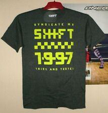 SHIFT MX FINISH LINE Tee T-Shirt Herren Motocross Enduro Männer Fox M Neu Thor