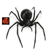 BLACK WIDOW SPIDER INSECT TOY MODEL by SAFARI LTD 545406 *NEW WITH TAG*