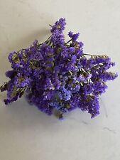 Sinuata Statice Lavender & Deep Purple Dried Flower Bunch Bouquet Bundle