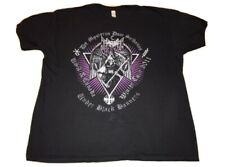 MAYHEM DE MYSTERIIS DOM SATHANAS 2011 TOUR T SHIRT SIZE XL