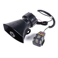 100W 12V Car Alarm Loudspeaker PA Siren Horn Emergency Warning Horn Loud Speaker
