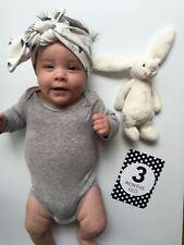 Baby Milestone Cards, Baby Photo Cards - Newborn Photo Props - New Mum Gift